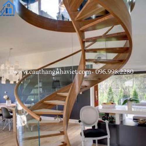 Cầu thang xoắn ốc đẹp giá rẻ tại Hà Nội - Báo giá thi công năm 2021