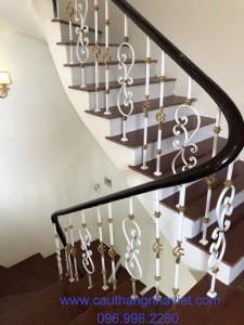 Cầu thang sắt mỹ thuật 15