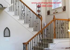 Cầu thang sắt mỹ thuật SMT23