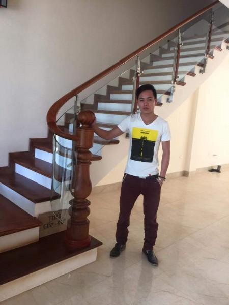 Cầu thang kính 01