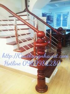 Cầu thang inox I01