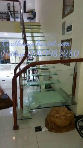 Cầu thang xương cá XC 06