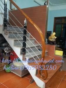 Cầu thang inox I04