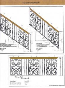 Cầu thang sắt nghệ thuật 12