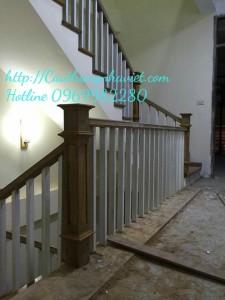Cầu thang gỗ G-05