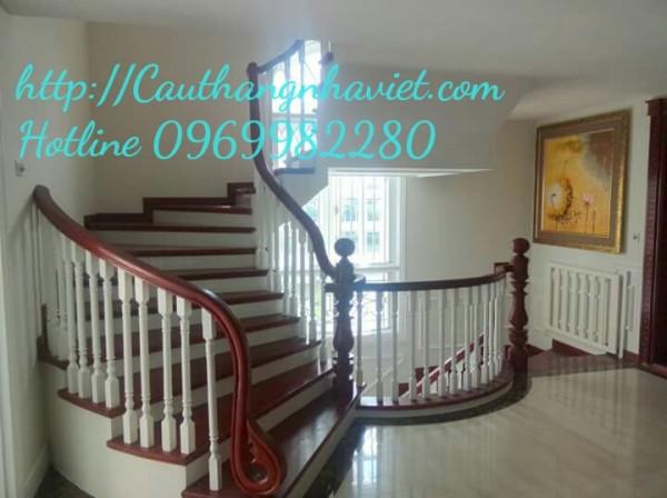 Cầu thang gỗ G-02