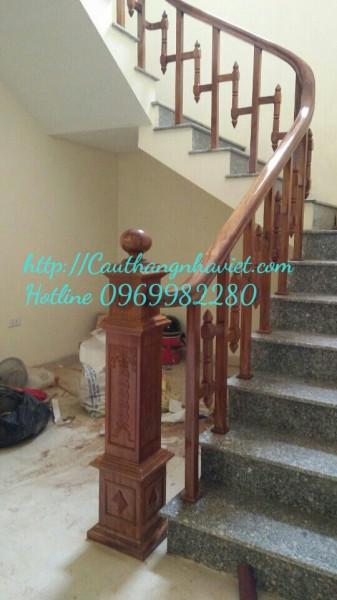 Cầu thang gỗ G-03